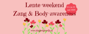 Lente-weekend Zang & Body-awareness
