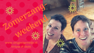 Zomerweekend Zang & Body-awareness